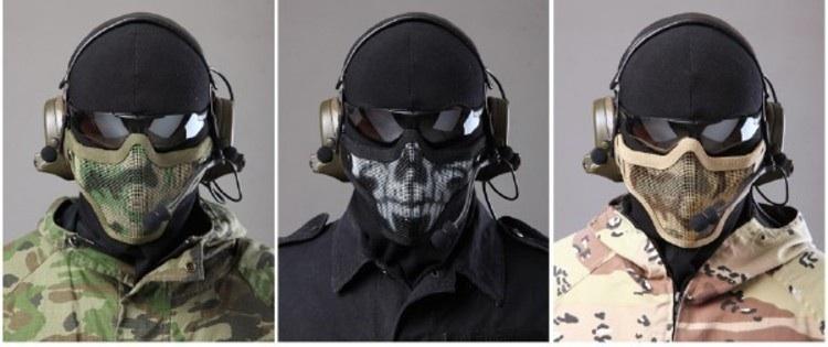 Как сделать маску военного видео