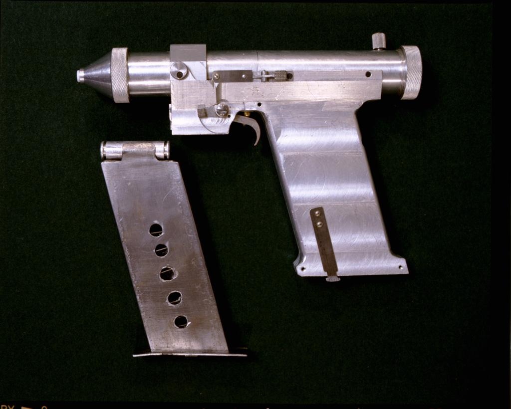 схема лазерной пушки