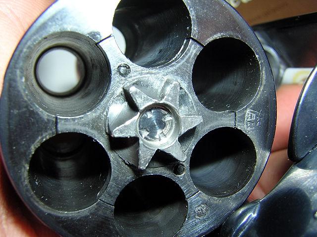 Как сделать барабан для револьвера своими руками 83