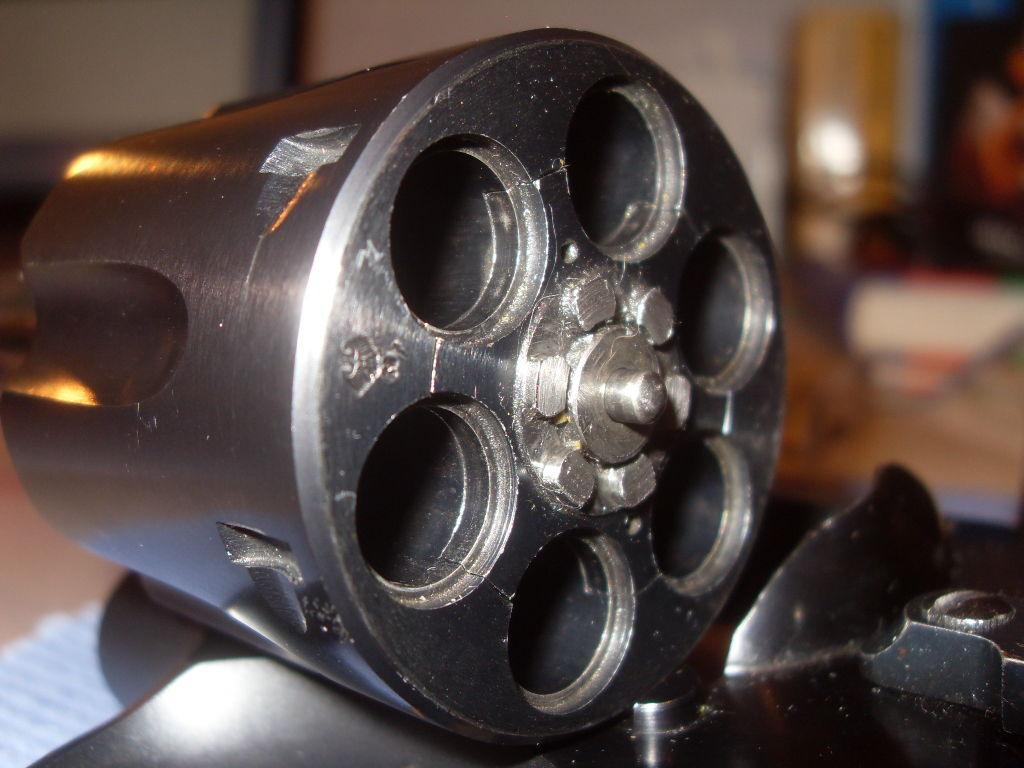 Изготовление барабана для револьвера