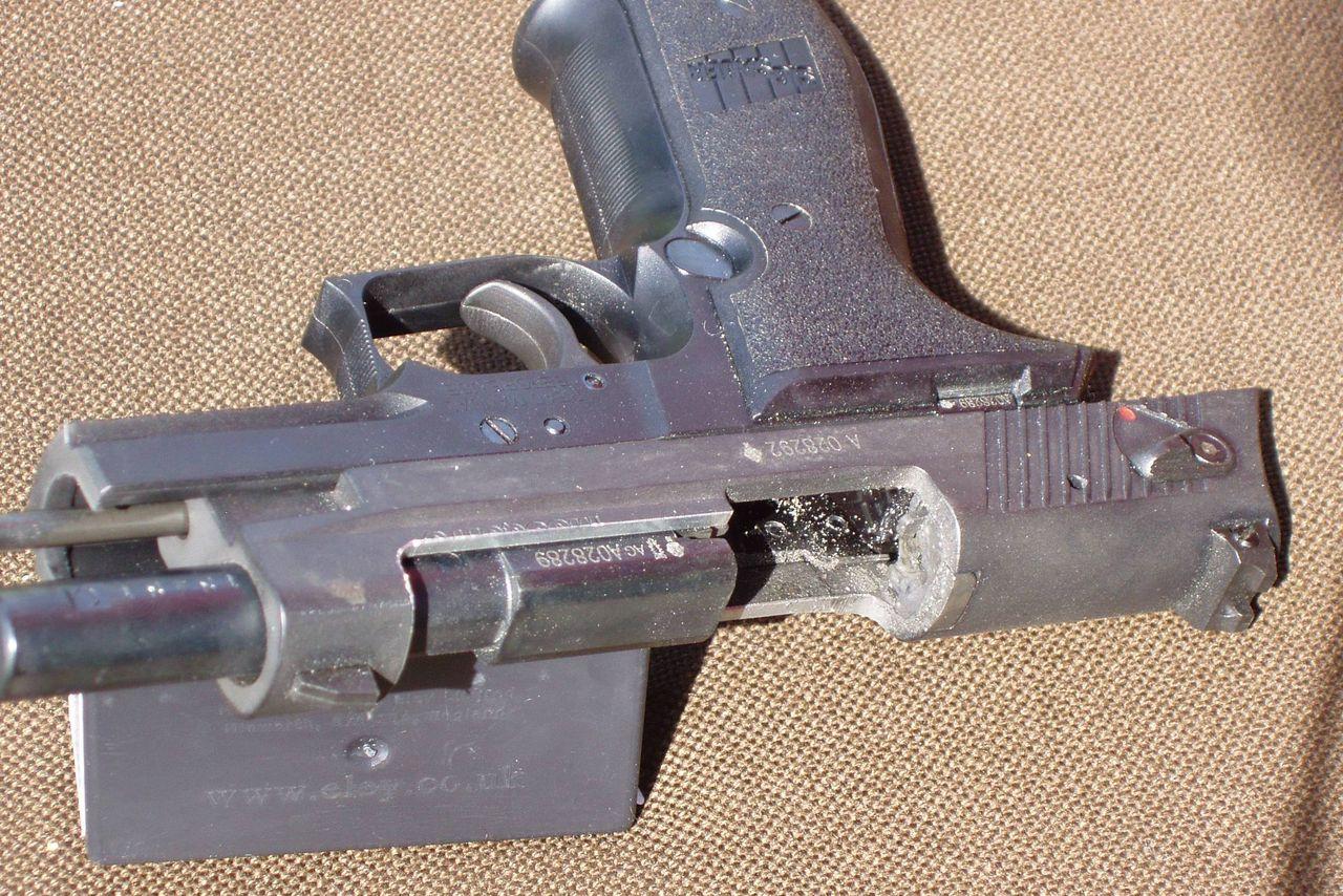 Как сделать мелкокалиберный револьвер своими руками