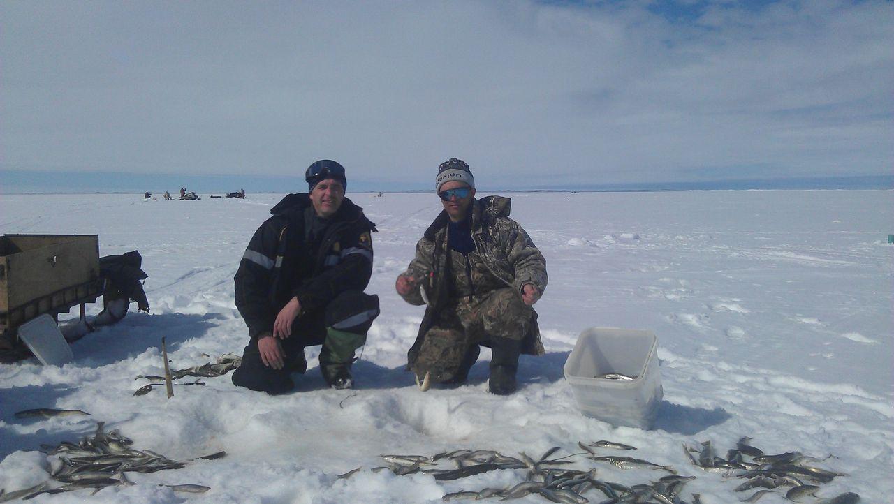 зимния рыбалка на сахалине видео