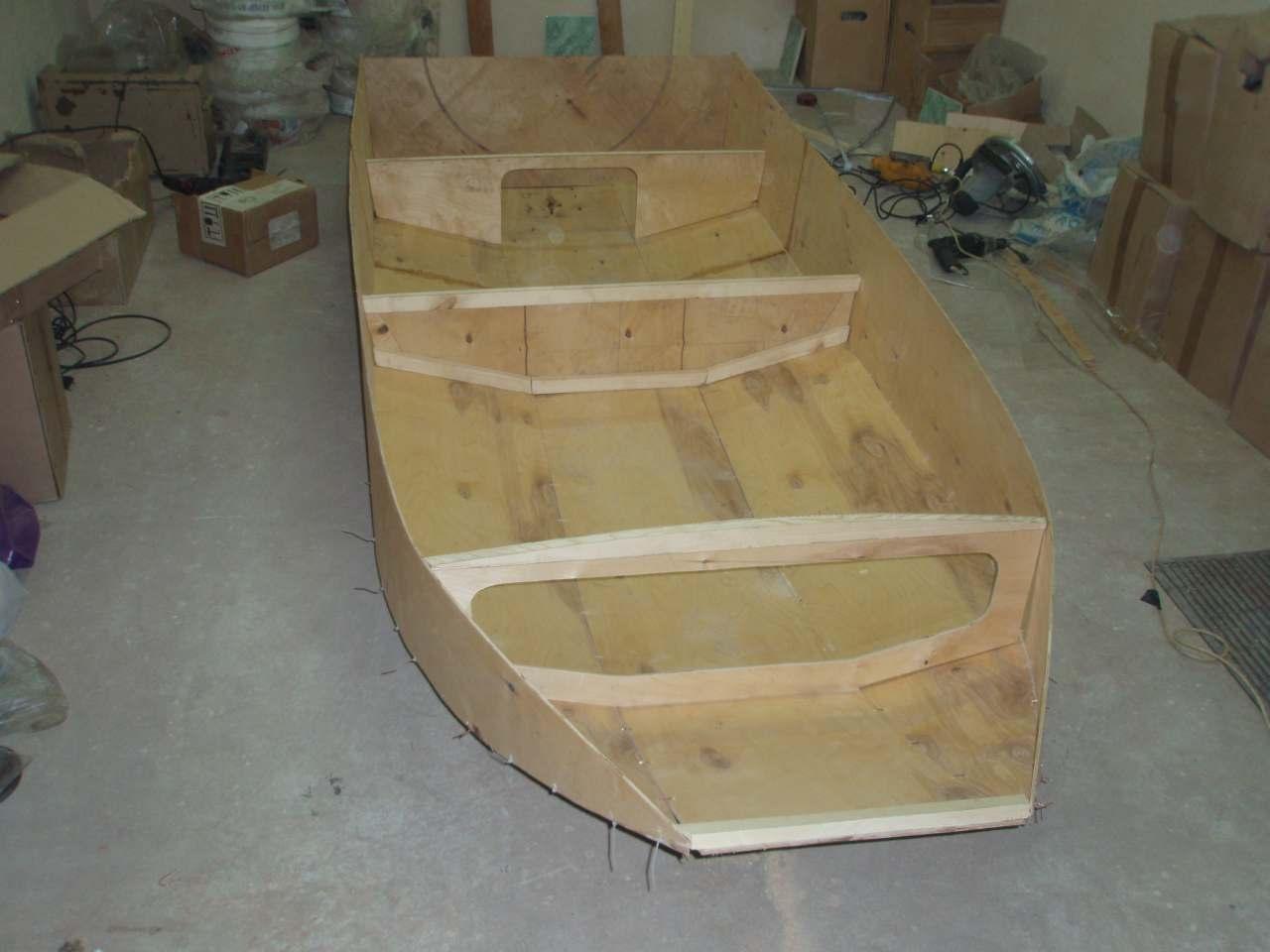 постройка самодельной лодки из фанеры