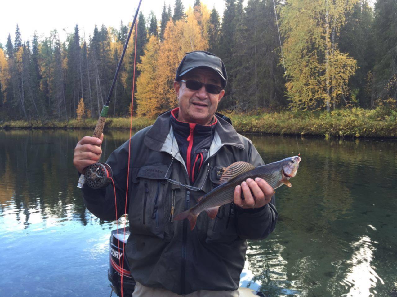 Рыбалка хариус в коми