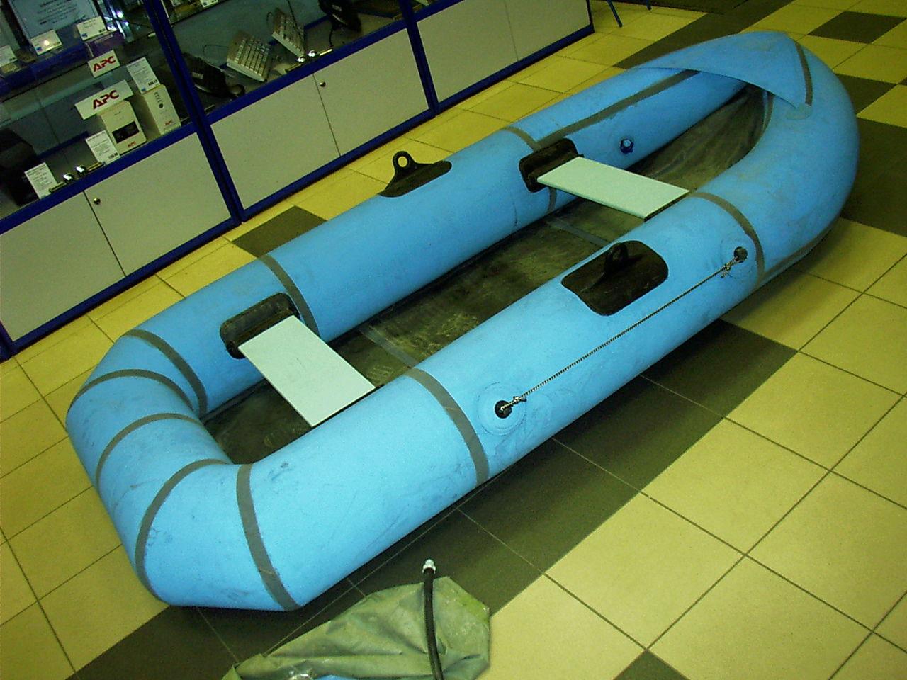 гребная надувная лодка из пвх 3 места