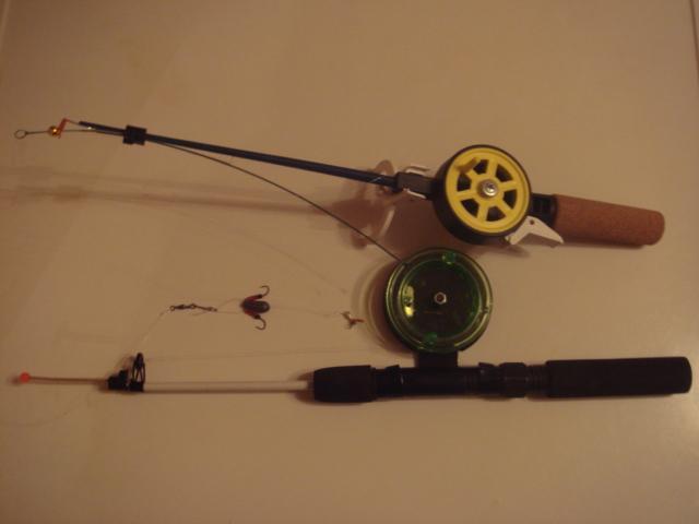 удочка для начинающего рыболова