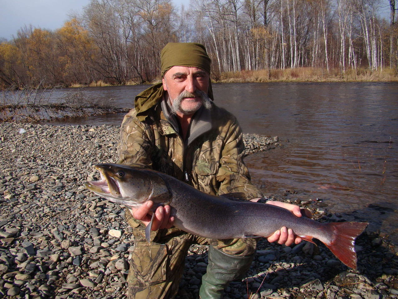 Рыбалка на щуку и тайменя