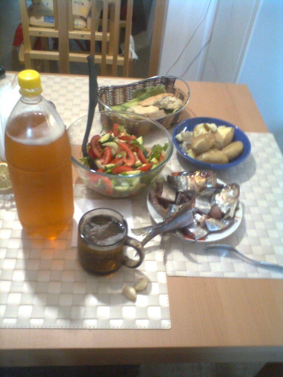 салат завтрак рыбака