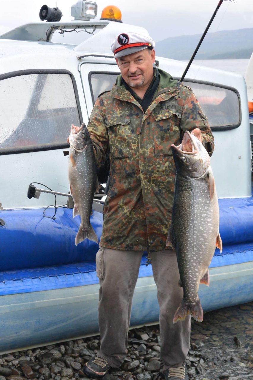 образом, фото рыбалки на озере таймыр очарование