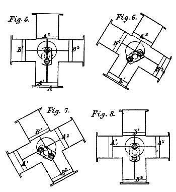 Схема двигателя Парсонса.