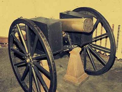 Нужна схема пулемета Гатлинга.