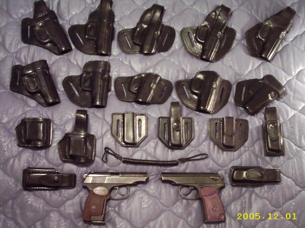 Кобуры для пистолетов и револьверов 59