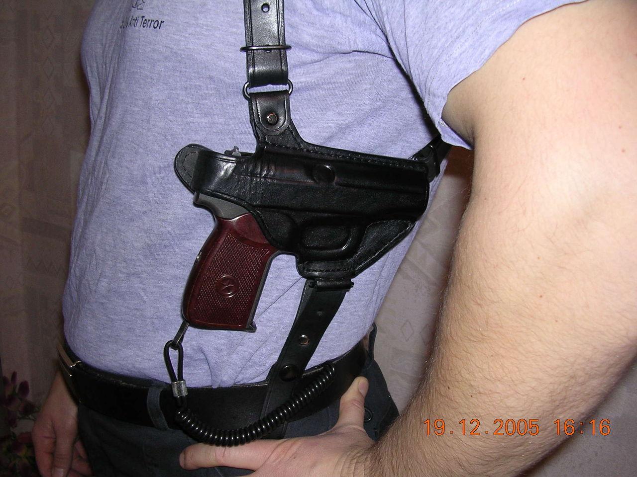 Оперативная кобура своими руками