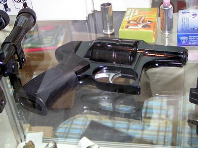 Двухствольный пистолет калибра