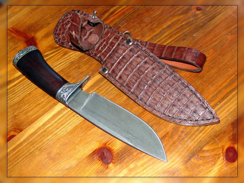 Изготовить охотничий нож своими руками 53