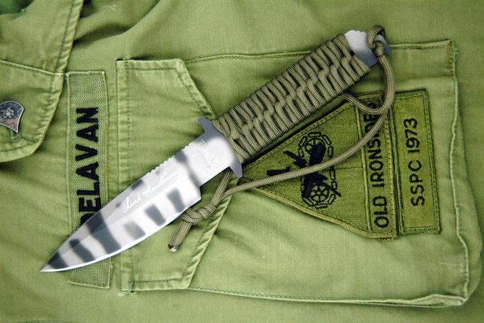 Плетеная ручка для ножа