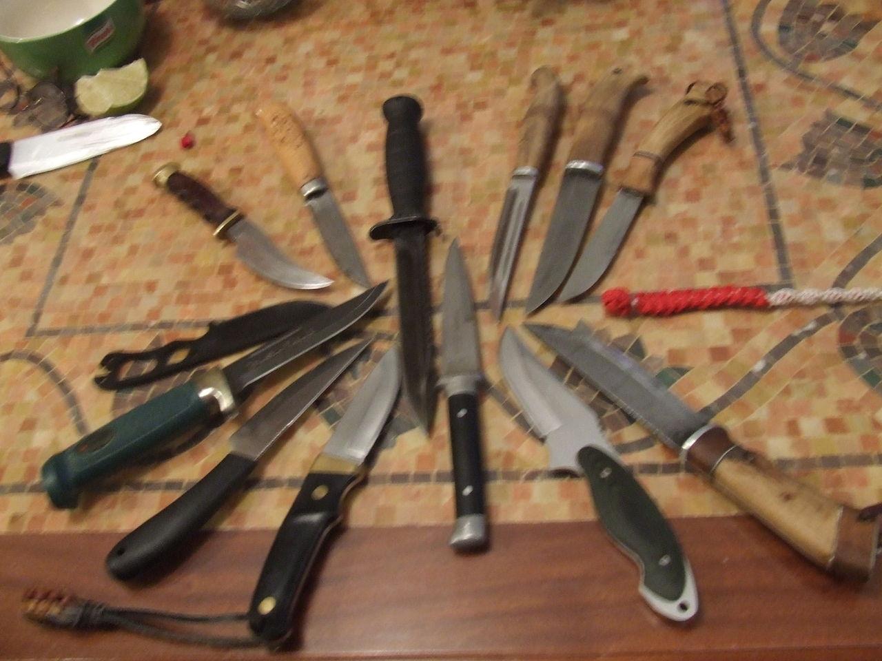 Как сделать вострый нож