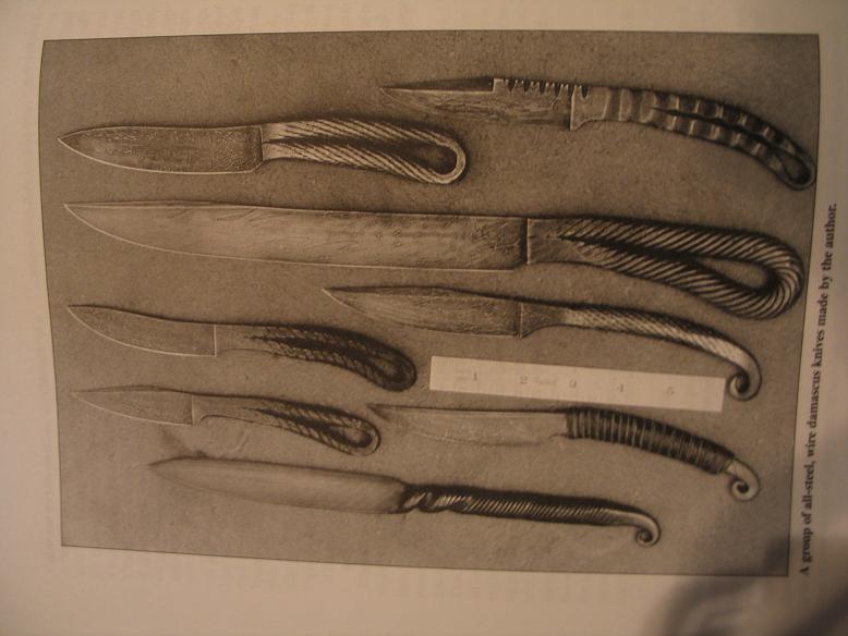 Нож из велосипедной цепи