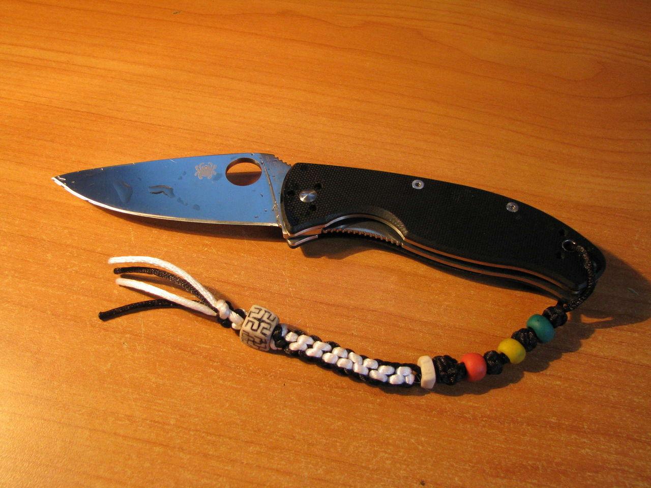 Нож из кабеля и веревки в примитивном стиле - Pikabu 22