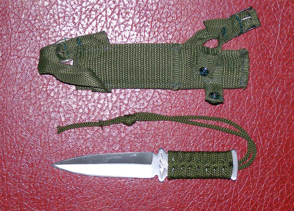 Нож своими руками из ниток