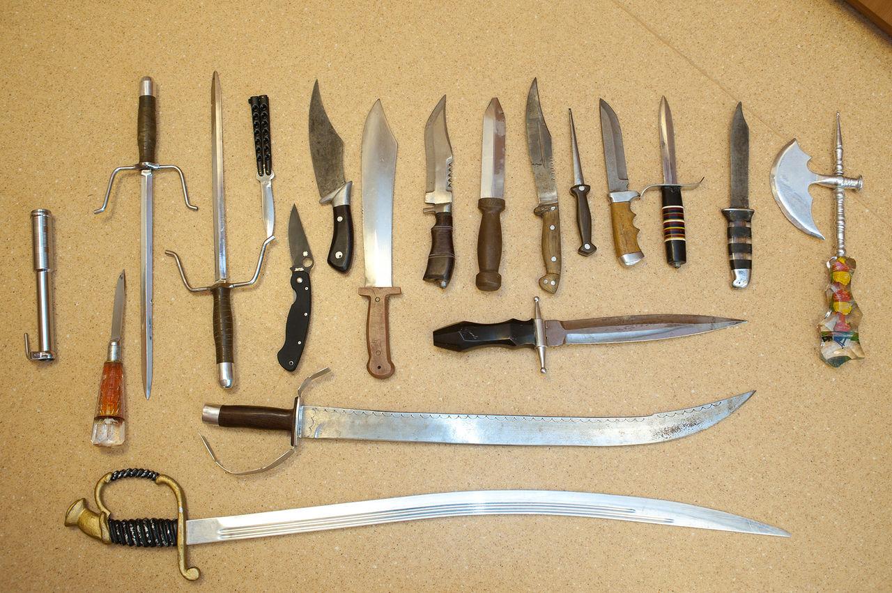 Ножи самодельные своими руками фото
