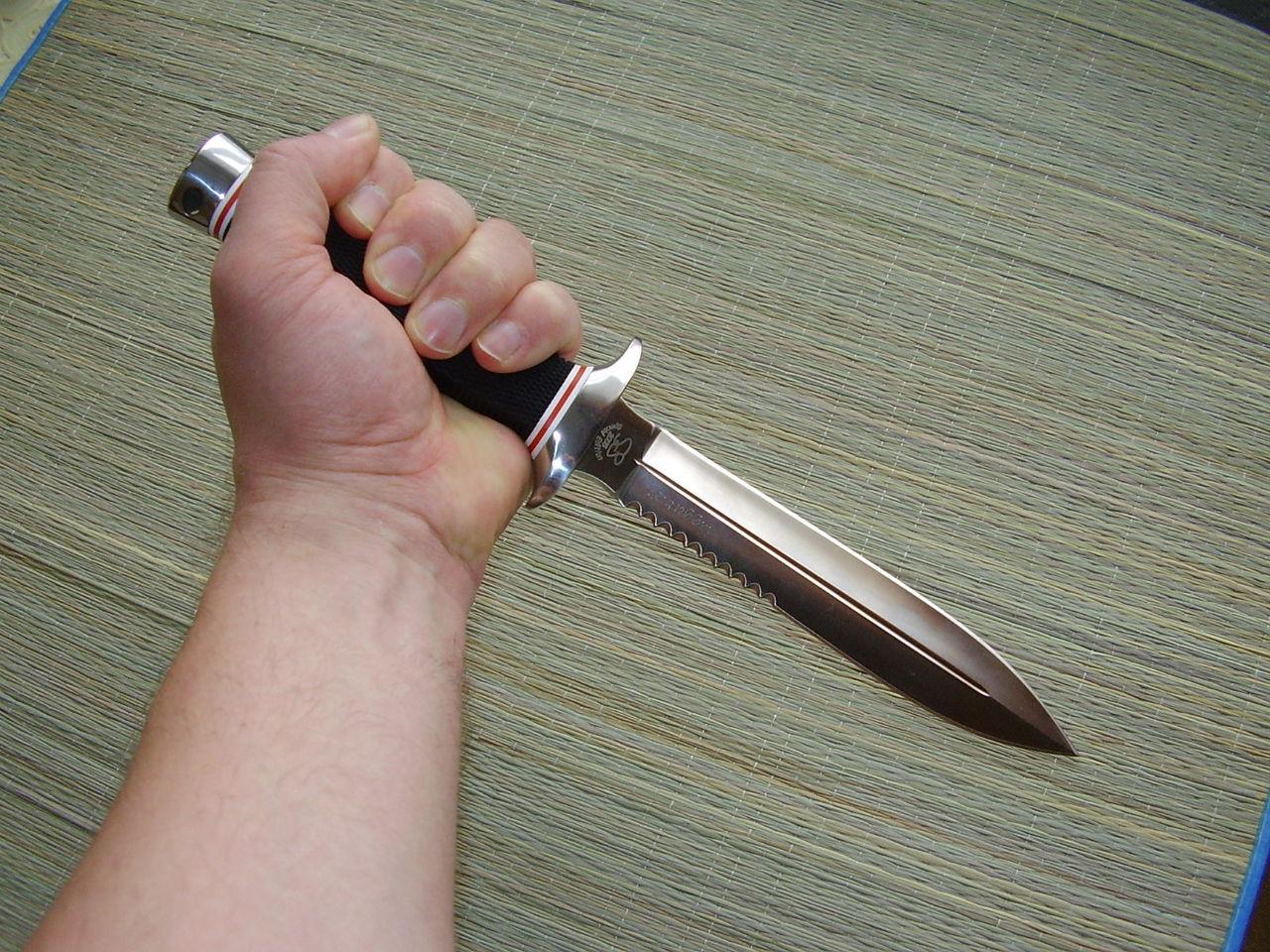 Как сделать гарду для ножа своими руками