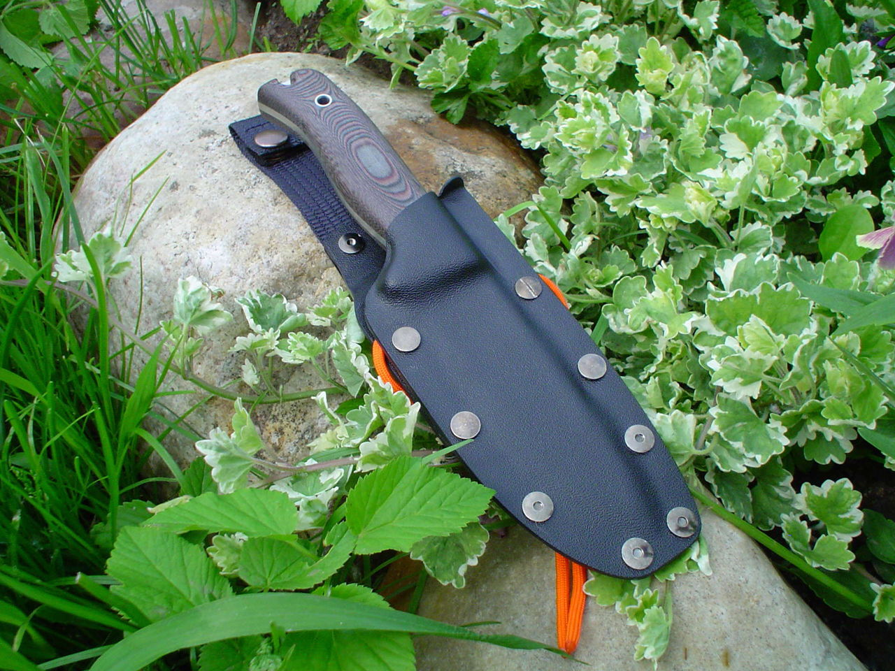 Чехол из пластика для ножа своими руками