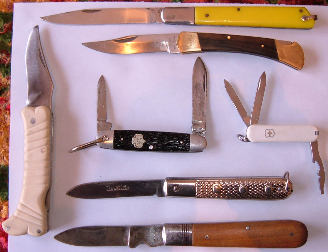 Как сделан нож складной 812