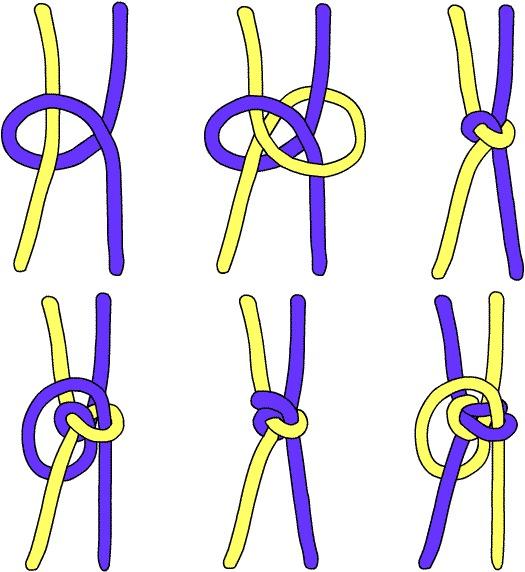 Плетение из паракорда змейка схема