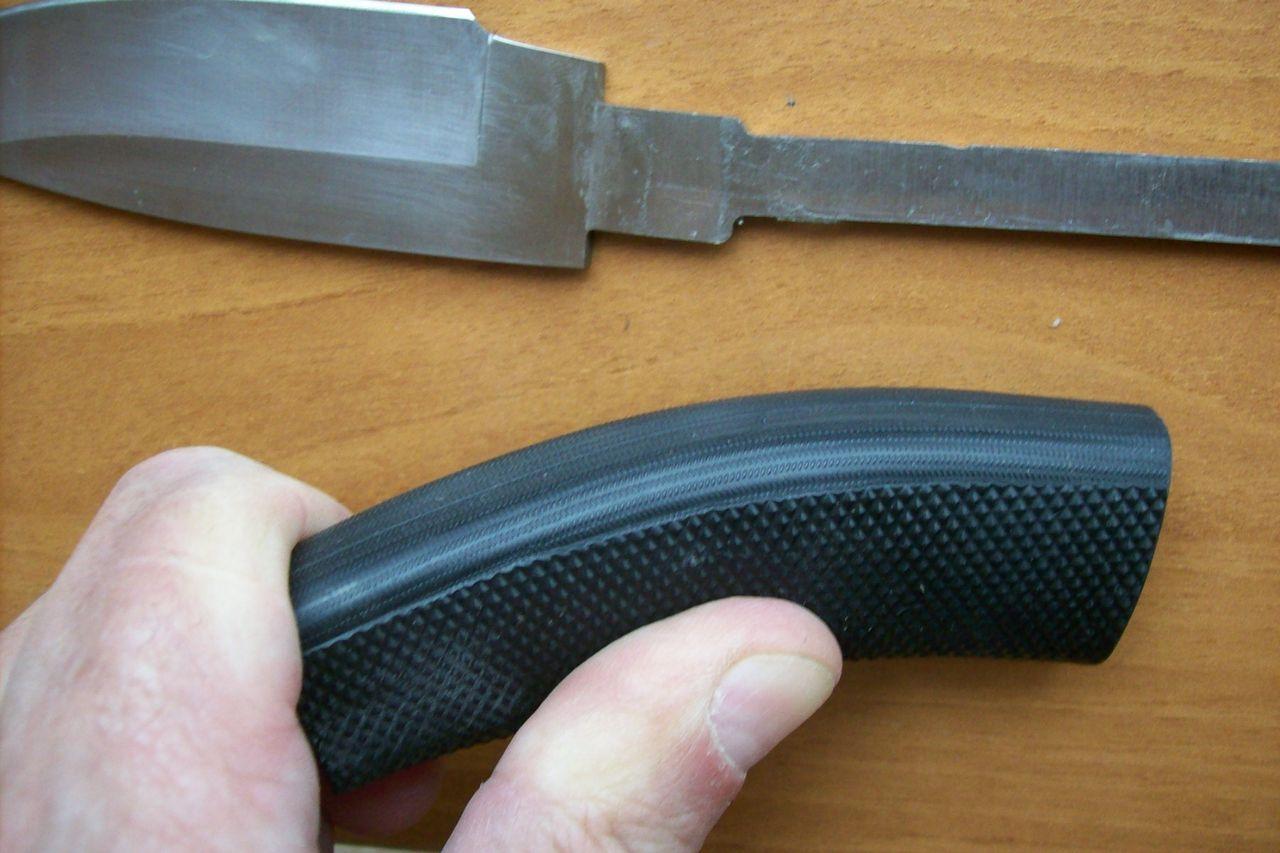 Рукоять для ножа из резины своими руками 65