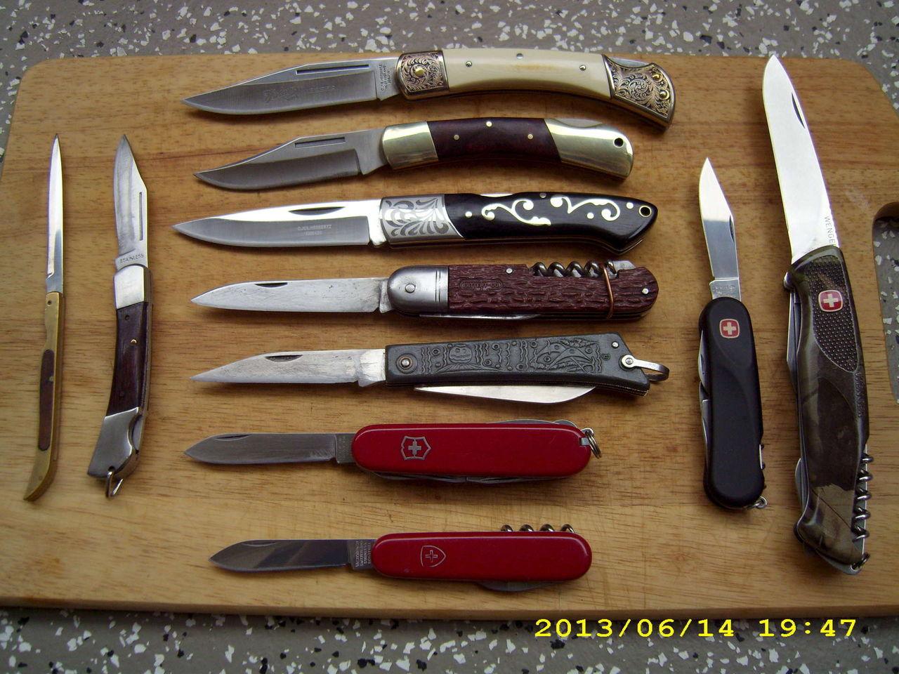 складной перочинный нож фото