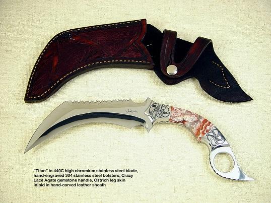 Как сделать нож керамбит из железа