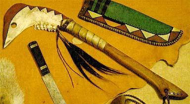 Томагавк индейцев своими руками