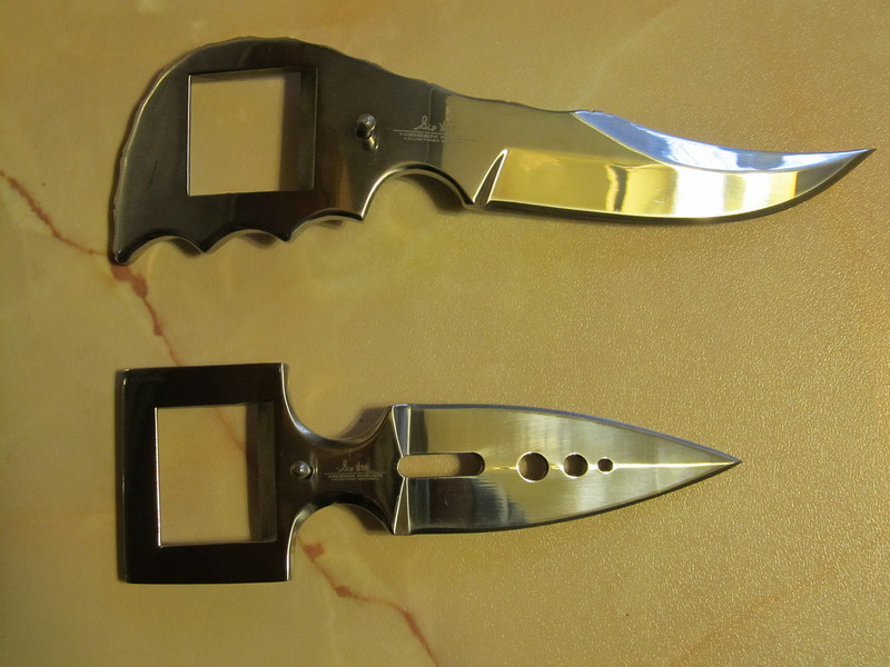 Скрытый нож своими руками
