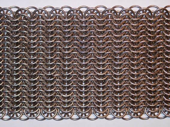 Панцирное плетение кольчуга