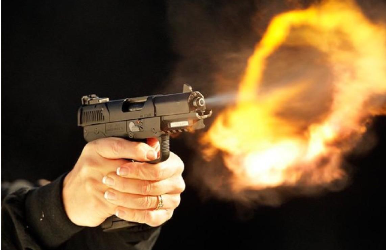 Картинки выстрела из пистолета, днем