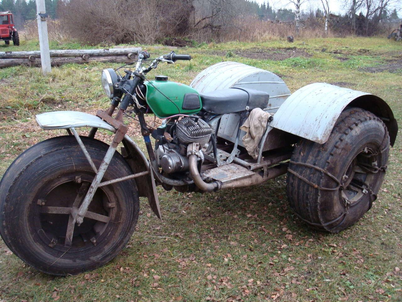 Каракат из мотоцикла своими руками фото 72