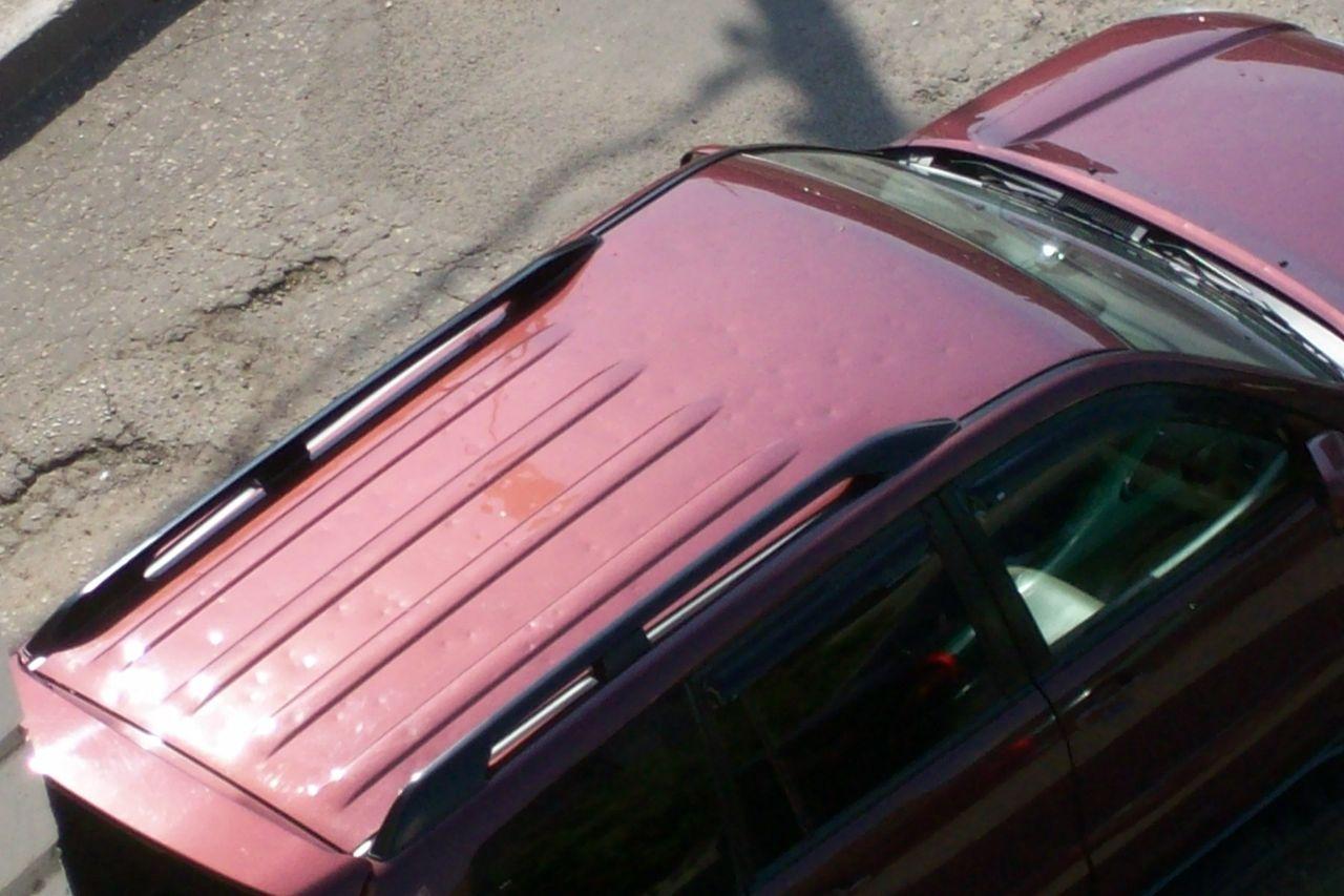 Правка крыши автомобиля своими руками