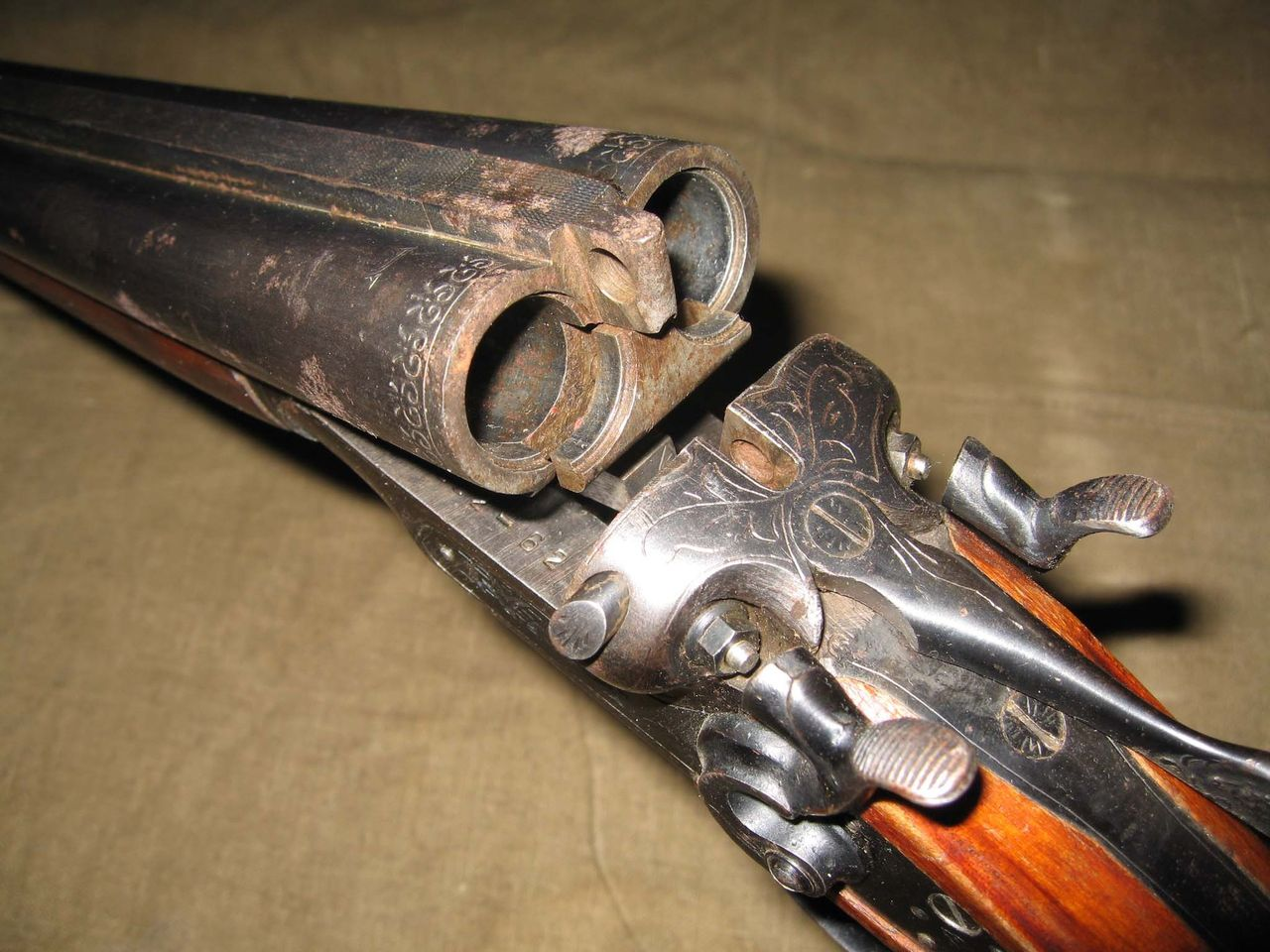 Реставрация оружия своими руками