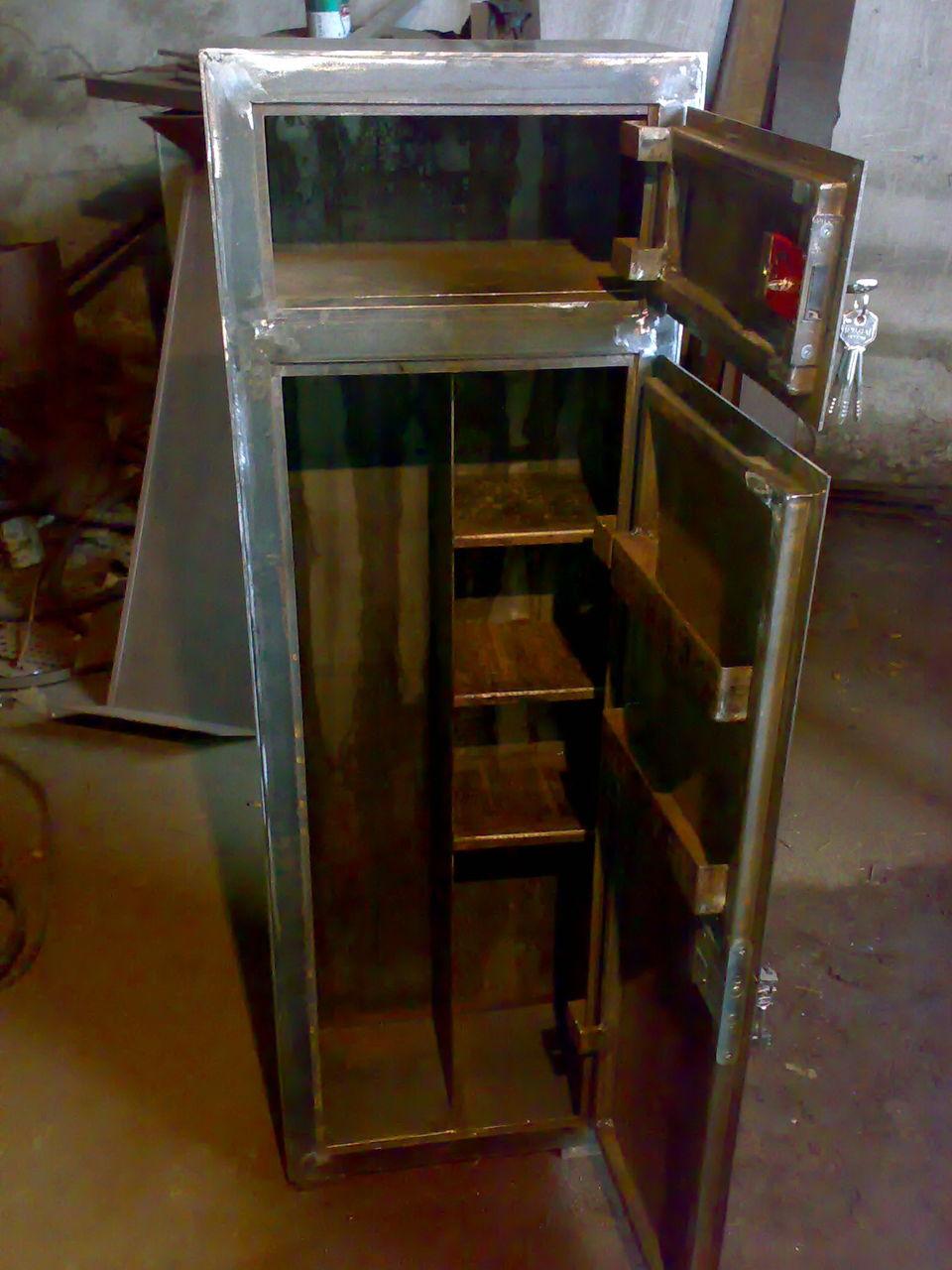Как сделать металлический шкаф своими руками 92