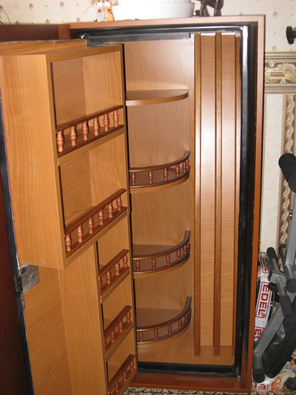 Внутренняя отделка сейфа своими руками