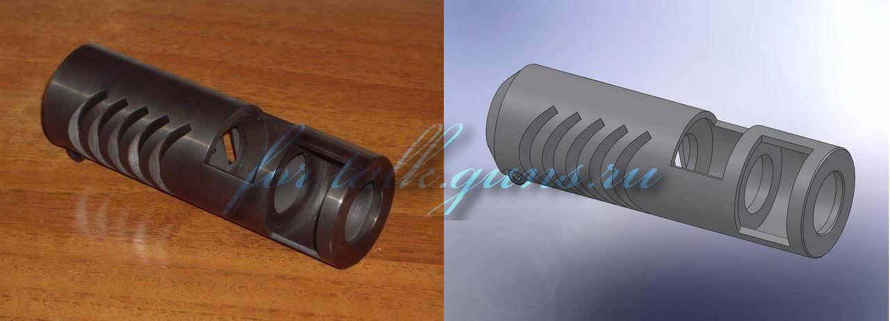 Дульный тормоз компенсатор - принцип действия ДТК и современные модели