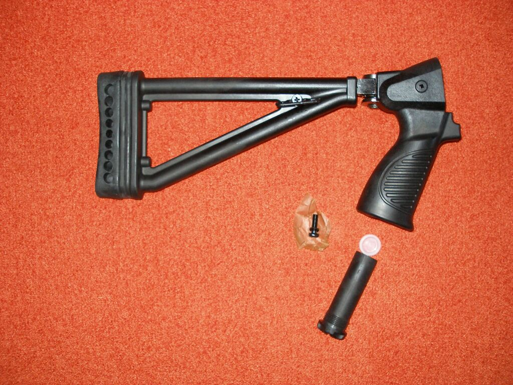 Складной приклад для ружья своими руками