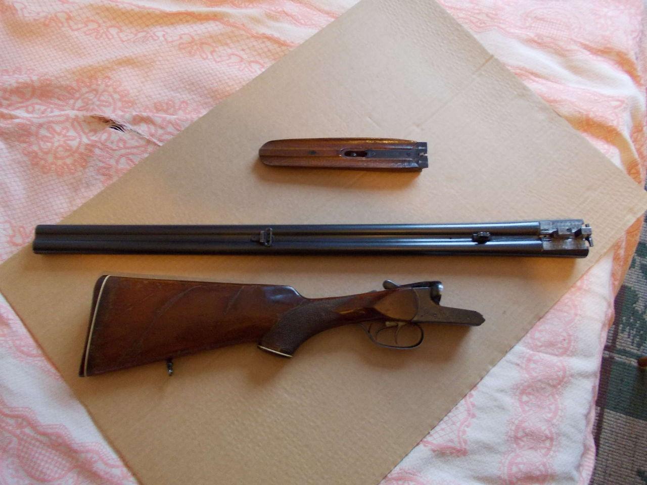 Как сделать воронение для ружья 253