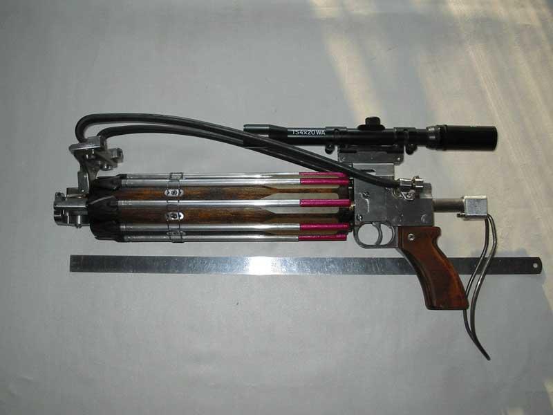 Арбалет пистолет схема