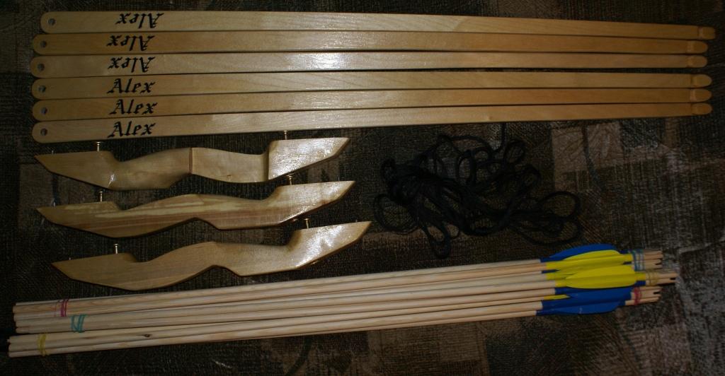 Стрелы для лука в домашних условиях