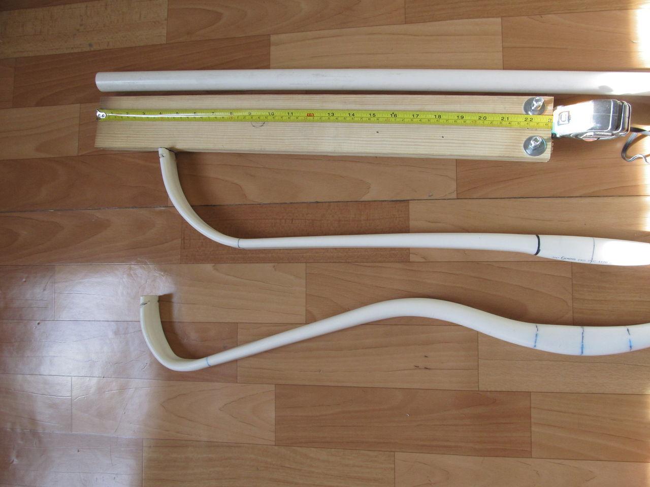Как сделать лук из полипропиленовой трубы своими руками 77