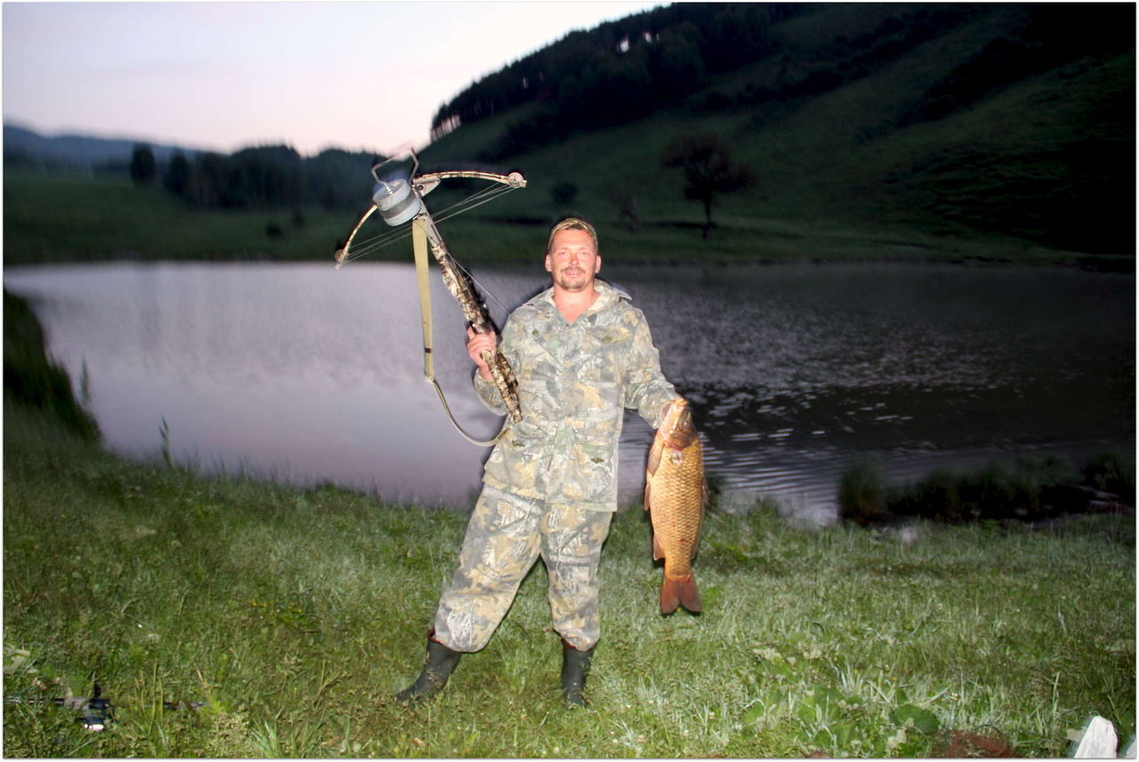 рыбалка с арбалетом скорпион видео