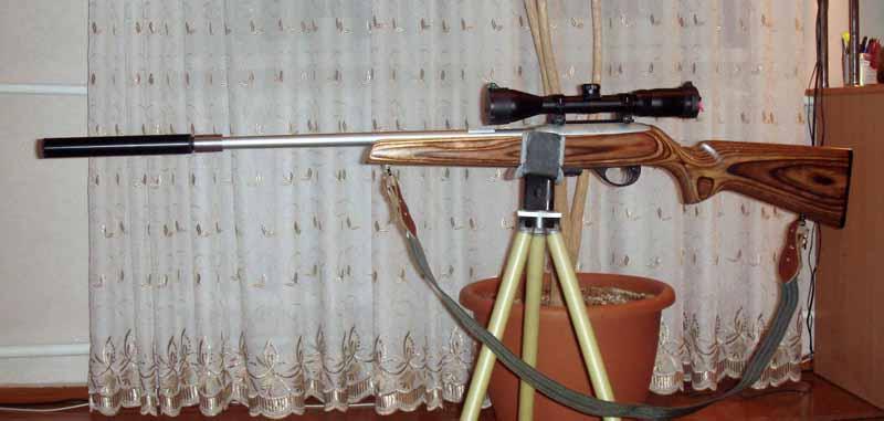 317Тренога для ружья