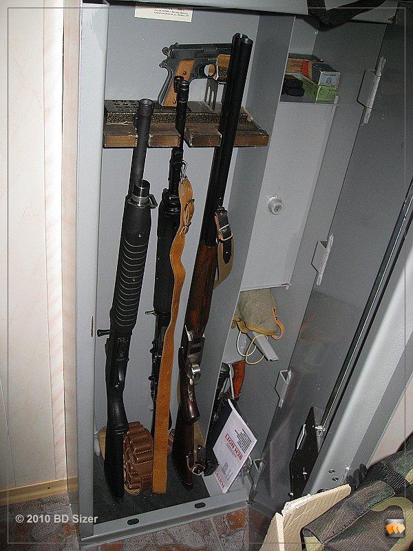 Держатель ружья для сейфа своими руками